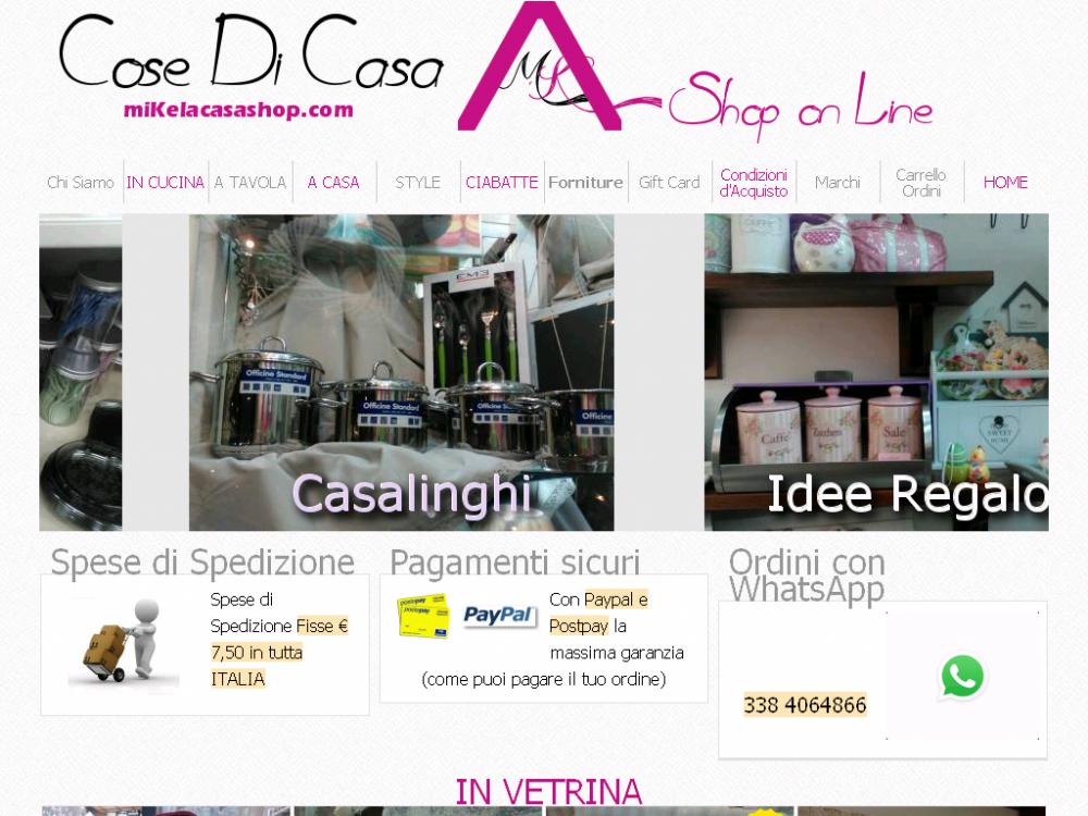 Vendita online articoli per la casa cose di casa di for Per la casa online
