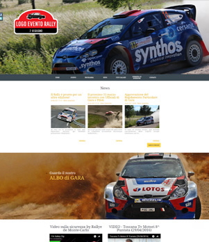 sito web evento sportivo mod 10052