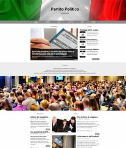 sito web partito politico mod 10081