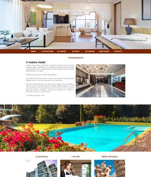 sito web per albergo mod. 10040