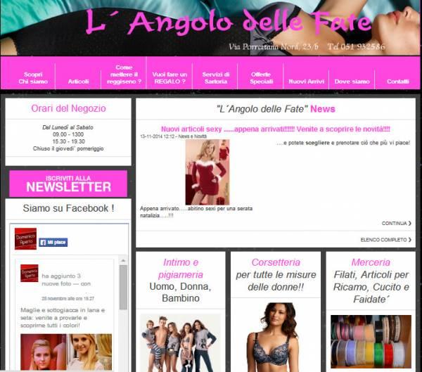 www.langolodellefatedilucia.it prima del restyling