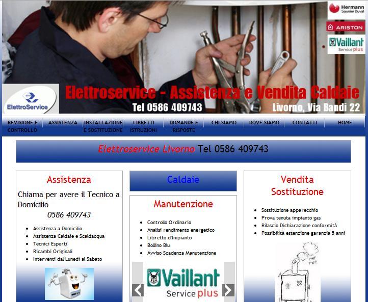 sito per elettroservice