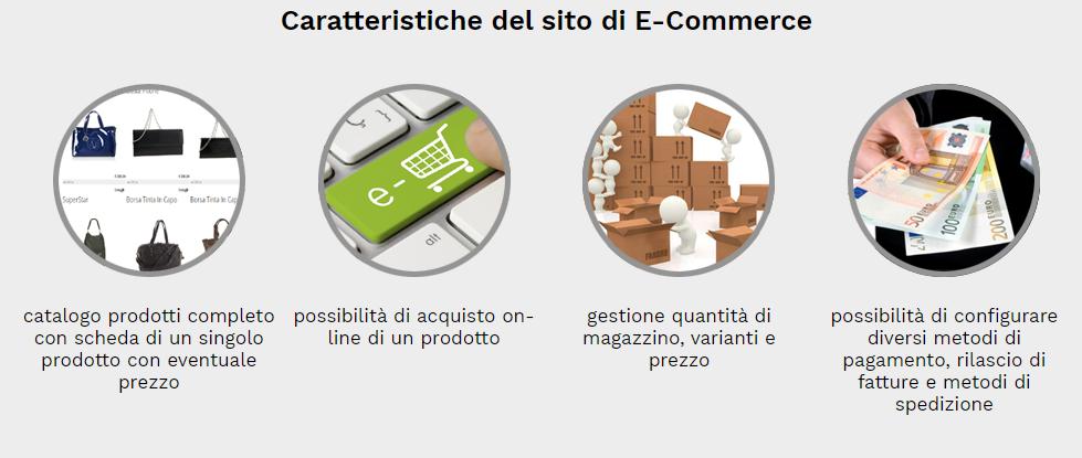 caratteristiche sito negozio scarpe online