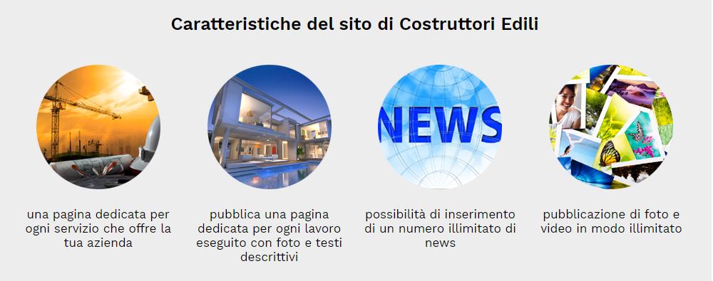 caratteristiche sito web costruttori edili