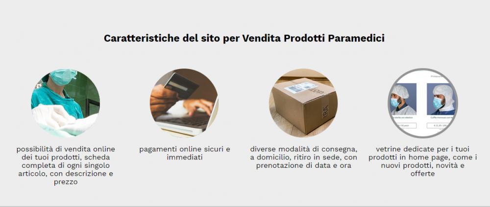 caratteristiche sito vendita prodotti medicali