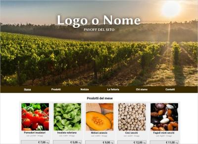 sito web azienda agricola