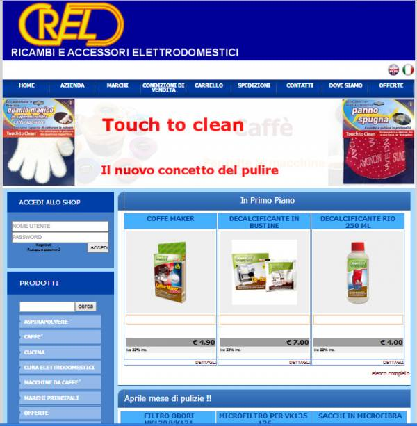 crel livorno restyling sito web