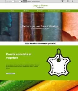 E-Commerce Pellami sito web