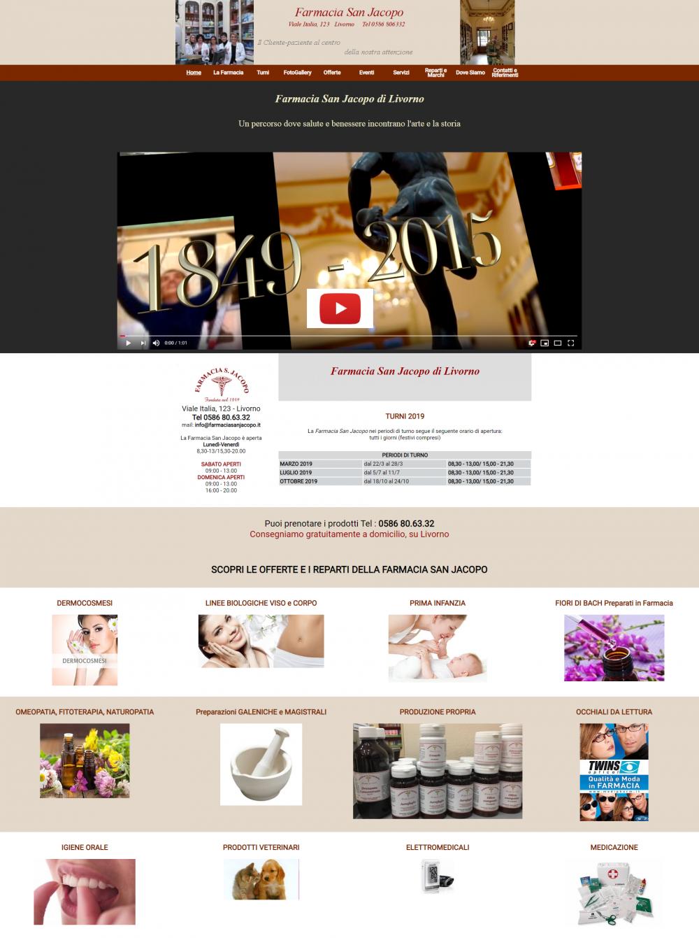 sito per farmacia san jacopo