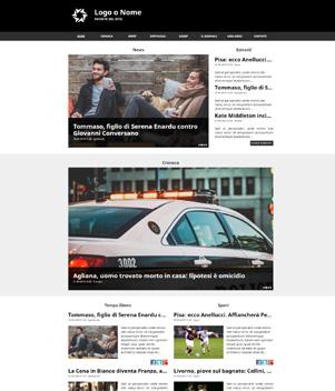 sito web giornale online mod. 10031