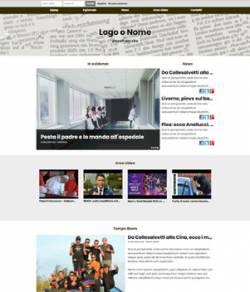 sito web giornale online mod 10032