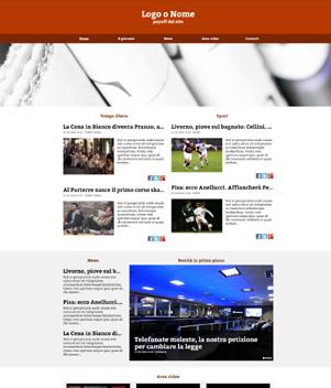 sito web giornale online mod 10033