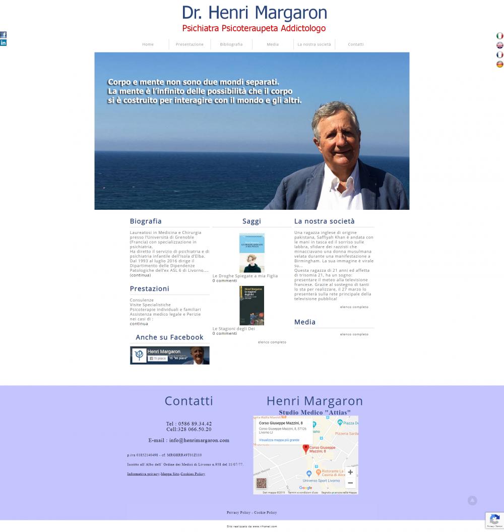 sito per Henri Margaron psichiatra