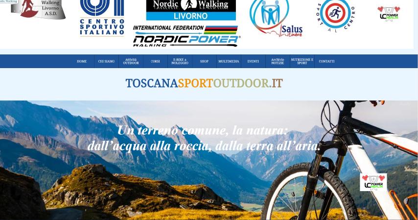sito per ToscanaSportOutdoor