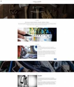sito web idraulico elettricista