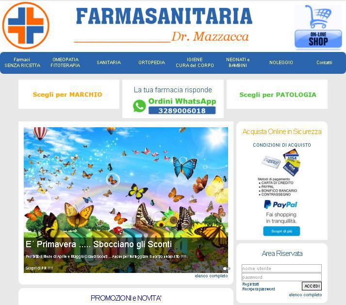 sito per farmasinitaria