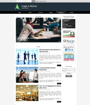 sito web istituto scolastico mod 10019