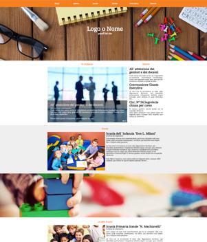 sito web istituto scolastico mod 10021