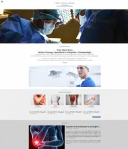 sito web per medico