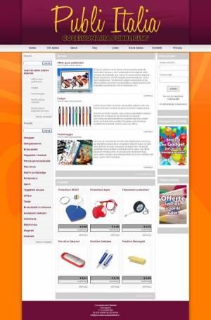 sito per concessionaria pubblicità template