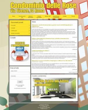 sito condominio template