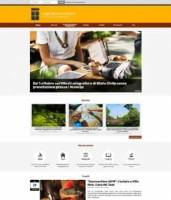 sito per ente pubblico template
