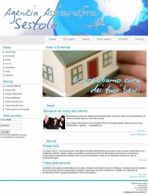 sito per agenzia assicurativa template