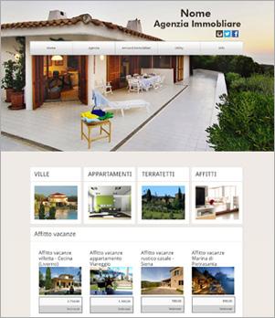 sito per agenzia immobiliare template 10013