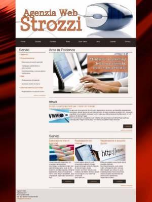 sito per agenzia web template