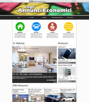 sito per annunci economici template 10042