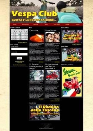 sito per associazione di categoria template