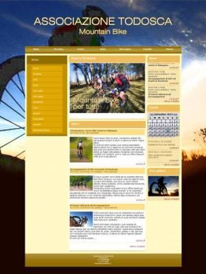 sito per società mountain bike template