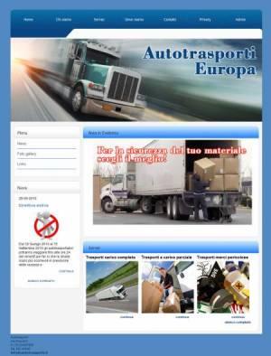 sitoper autotrasporti template