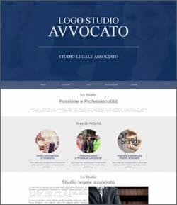 sito per avvocati template 10055