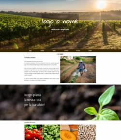 sitoper azienda agricola template 10068