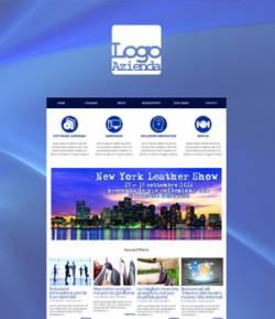 sito per azienda servizi informatici template