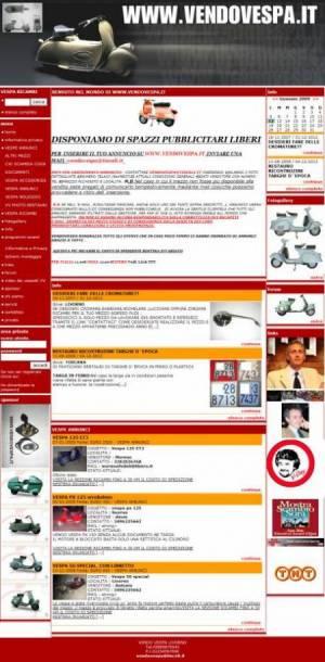sito per collezionismo template