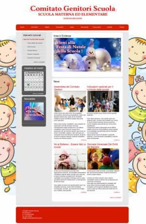sito per comitato genitori scuola