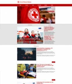 sito web croce rossa template