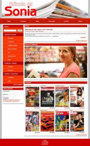 sito web edicola