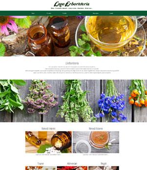 sito web erboristeria ecommerce 10049
