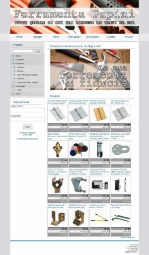 sito web ferramenta template