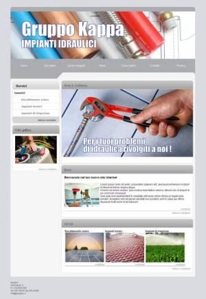 sito web idraulico