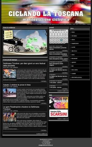 sito web manifestazione ciclistica template