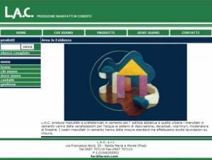 sito web manufatti template