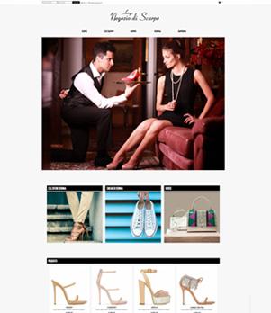 sito per negozio di scarpe