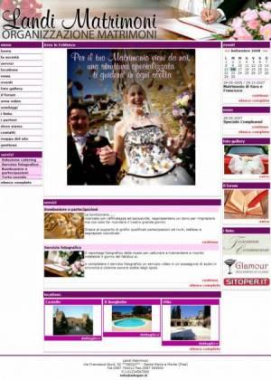 sito web organizzazione matrimoni webplanning