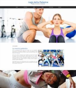 sito web palestra template 10056
