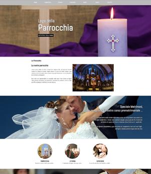 sito web parrocchia template 10046