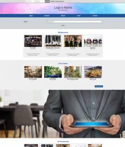 sito web portale aziende templte 10092